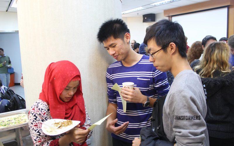社科院國際英語學程、國際服務課、 學生大使交流活動
